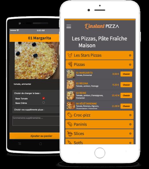 L'instant Pizza à emporter