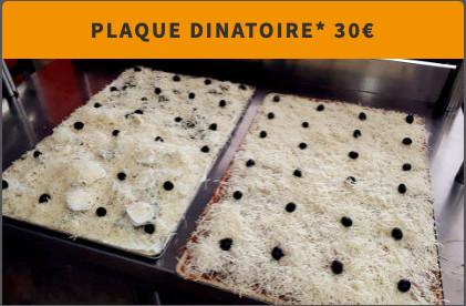 Plaque Pizza Dinatoire
